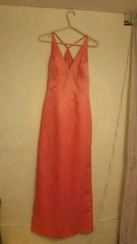 women's orange sleeveless dress Oakville, L6K 3P3