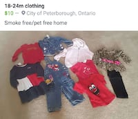 assorted clothes Peterborough, K9H 0A1