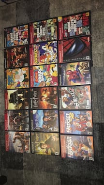 Ps2 game collection rare games