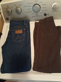 2 pairs of boys size 12 jeans