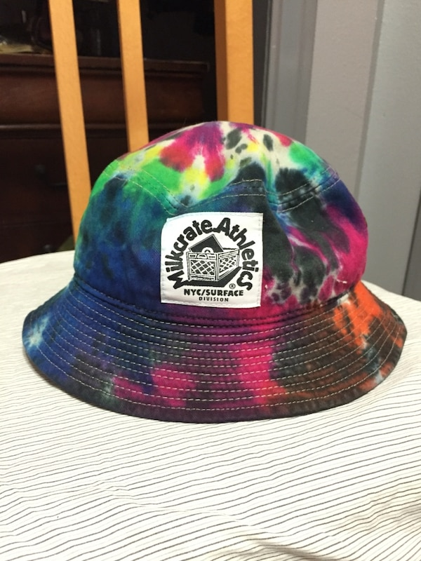 Used Milkcrate Athletics tie dye bucket hat for sale in Laredo - letgo cc781c06fa7