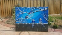 custom painting Blue Jays 40x30  inches  Toronto, M2J 4R2