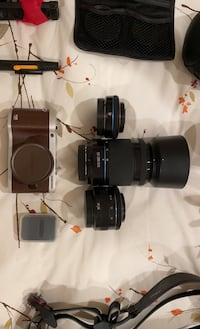 Samsung NX300 20MP Camera with three lenses and accessories!