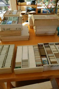 1000,s of baseball and football cards East Providence, 02914