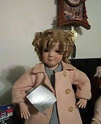 pink button-up dressed doll Apple Valley, 92308