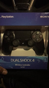 black Sony PS4 DualShock 4 controller Capitol Heights, 20743