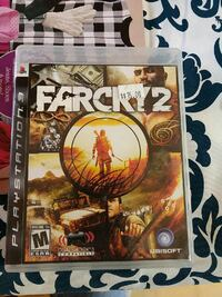 Far Cry 2 PS3 game case