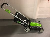 Electric lawn mower (plug in) Arlington, 22209