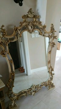 two brass-colored framed mirrors Laval, H7W 4S2