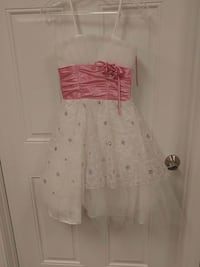White and Pink Party Dress  West Columbia, 29169