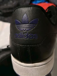 black and purple ADIDASs size11 Winnipeg, R3B 3C3