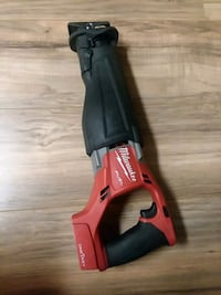 one key Milwaukee fuel Sawzall brand new