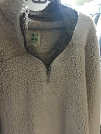 Green tea brand extra extra-large Sherpa jacket women's very soft Midland, 48640