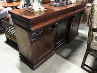 Large antique German Biedermeier commode or buffet server  Toronto, M2R 3N1