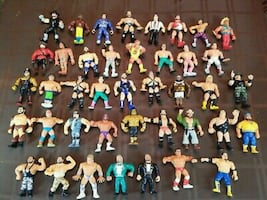 Wwf action figures