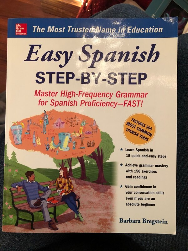 Easy Spanish Step-By-Step textbook