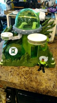 green Lantern  house with man  Baltimore, 21228