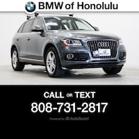 2016 Audi Q5 Premium Plus Honolulu, 96813