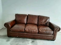 Leather couch and live seat