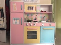 white and pink kitchen playset 23 km