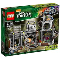 LEGO Ninja Turtles 79117 Turtle Lair Invasion.  Brand new. Only $160!! Laval, H7S 1H7