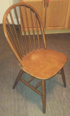 3 antique wooden chair for $15