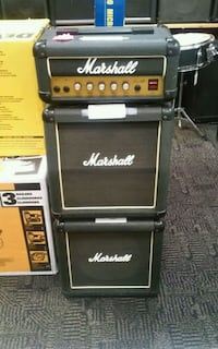 3 pc Marshall Guitar Amp stack 202744-1