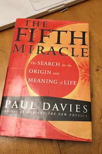 The fifth miracle the search for the origin and meaning of life.