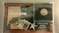 Liberty Head Nickle 1883 W/ Certificate Of Authen Quincy, 02169
