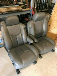 All 4 leather captain-chairs-2007 Chevy/ Denali  San Antonio