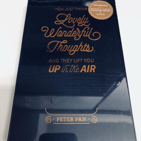 Brand New Moleskine - Peter Pan Collector's Edition