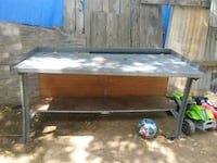 Steel top work bench great condition Shafter, 93263