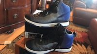 KD Nike 2015 VIII NSW Lifestyle high tops in Silver and Blue size 9 Falls Church, 22042