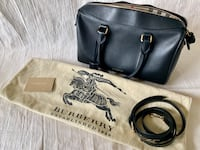 Burberry Medium Alchester in leather: PRICE REDUCED TO MOVE: FINAL OFFER Schaumburg, 60194