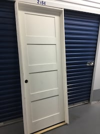 "30x77 3/4"" 4 Panel Prehung Door Philadelphia, 19148"