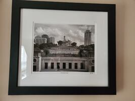 Joe Fizer framed art print/photo of Nashville's Capital Hill