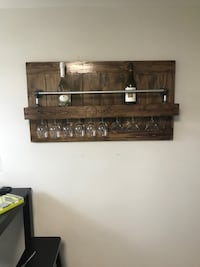 Wine Rack with Glass Holder Rockville, 20852