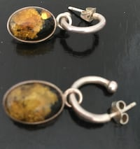 Amber Pendant/Earrings 925 Severn, L0K