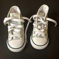 Toddler Girl Converse Size 5c Redford Charter Twp