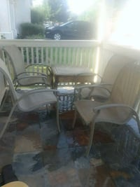 Back yard  set of 4 chairs Tracy, 95376