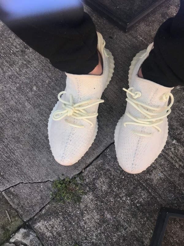 5a82c885eda09 Used Pair of butter adidas yeezy boost 350 with box for sale in New York -  letgo