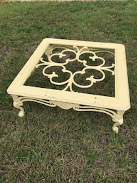 Wrought iron coffee table-glass is missing  Sanford, 32773