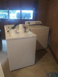 white top-load clothes washer Roswell, 30076