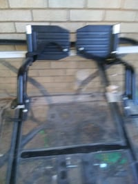 One set wheel chair foot rest