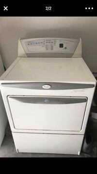 white front-load clothes dryer Tucson, 85741