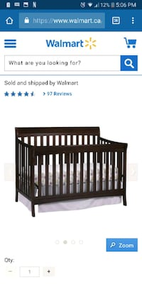 baby's brown wooden crib screenshot Saint Thomas, N5P 3A4