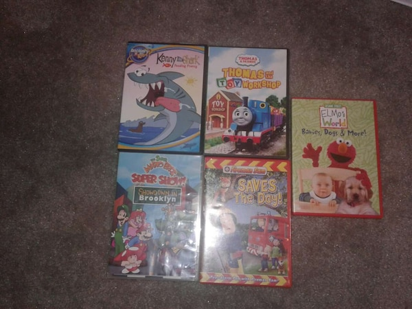 Kids movies $3 each