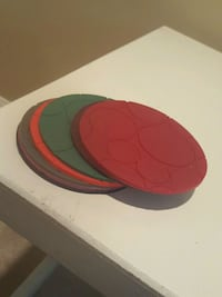 silicone coasters Knoxville