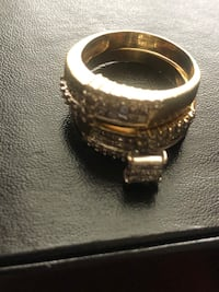 silver and diamond ring in box Columbia, 21046