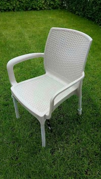 white wicker armchair Montreal, H2A 2P1